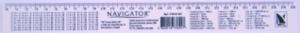 Линейка пластиковая 30см таблица умножения Navigator 72010-NV