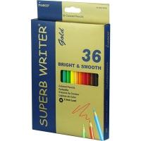 Карандаши цветные 36шт шестигранные Superb Writer Gold Marco 4100G-36CB