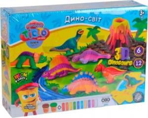 Тесто для лепки Master Do Динозавры укр TMD-10-04U