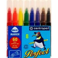 Фломастеры 8 цветов Perfect Maxi Centropen 8610/08