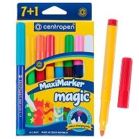 Фломастеры 8 цветов Magic Maxi Centropen 8649/08