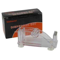 Диспенсер для скотча прозрачный 10-259 (23880)