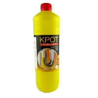 Чистящее средство для труб Крот-Трубочист жидкое1л