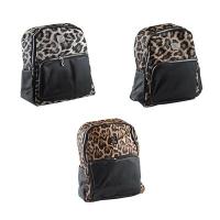 Рюкзак кожзам Леопард с карманом 3-413 (12299)