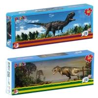"""Пазлы 105эл. LEO LUX  """"Динозавры"""" арт,194 16шт. в блоке, 12 в упаковке"""