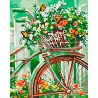 Набор для росписи по номерам 40*50см Цветы. Цветы Прованса КНО2920
