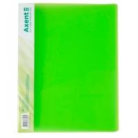 Скоросшиватель А4 зеленая прозрачная Axent 1304-26-А