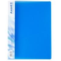 Скоросшиватель А4 синяя прозрачная Axent 1304-22-А