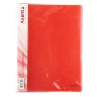 Скоросшиватель А4 красная прозрачная Axent 1304-24-А