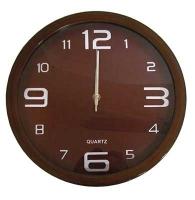 Часы круглые под дерево 8-504  (51991)