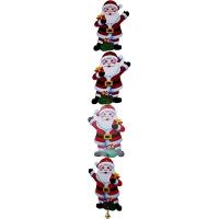 Гирлянда растяжка Санта с колокольчиком 5-349 (6244)