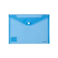 Папка на кнопке А5 Axent синяя 1522-22-А