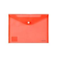 Папка на кнопке А5 Axent красная 1522-24-А