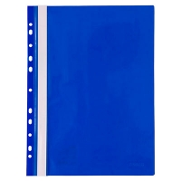 Скоросшиватель А4 Axent с перфорацией синяя 1318-02-А