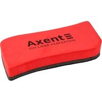 Губка для досок магнитная Axent красная большая 9805-04-A