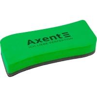 Губка для досок магнитная Axent зеленая большая 9805-05-A