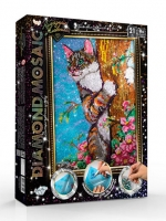 Набор креативного творчества Алмазная живопись DIAMOND MOSAIC большой DM-01,02