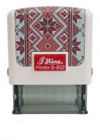 Оснастка для штампов 14*38мм UA-01 Вышиванка белая S-852UA-01