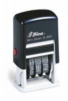 Мини-датер пластиковый цифровой 3мм на блистере S-300num