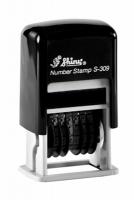 Нумератор мини пластиковый 6-ти разрядный 3мм S-309