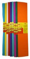 Гофрированная бумага 10цв крафт в упак 50*200 17г/м2 50919-ТК