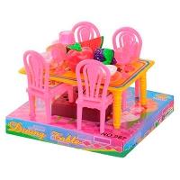 Столовая стол +4 стула 14см 967