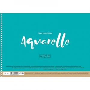 Альбом для акварели А4 20л MUSE PB-SC-020-302