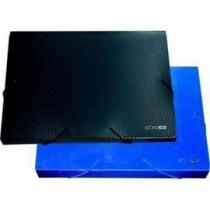 Папка бокс А4 60мм на резинке синяя Е31405-02