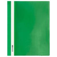 Скоросшиватель А4 Economix глянец зеленый без перфорации Е31511-04