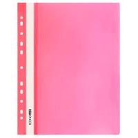 Скоросшиватель А4 Economix глянец розовый без перфорации Е31511-09