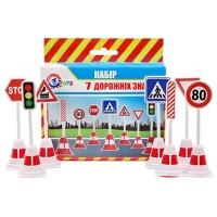 Игрушка Набор дорожных знаков ТехноК 4357