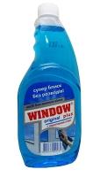 Средство для мытья окон Window plus 500мл синий запаска GDU