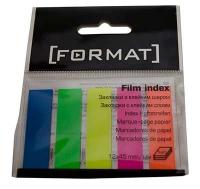 Стикер идентификатор Format 12*45мм 5цв неон 100шт F27945