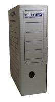 Короб архивный картоный белый 100мм Economix Е32704-14
