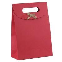 Пакет подарочный с бантиком 27*19*9см 6-424 (10353)