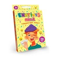 Настольная карточная игра Emotions Mimik укр EM-01-01U
