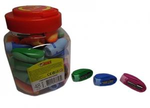 Точилка пластик 48шт в банке 52623-TK