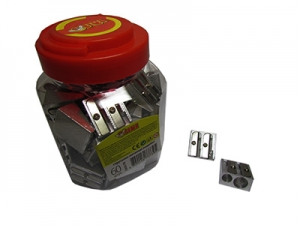 Точилка металическая двойная обычная+Jumbo 52632-TK