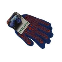 Перчатки PROFI с ПВХ рисунком синие DOLONI 4450 Цена за пару