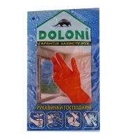 Перчатки латексные универсальные L DOLONI 4546