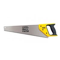 Ножовка столярная 450 мм 7TPI MAX CUT каленый зуб 3D заточка полированная Master Tool 14-2145