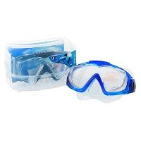 Маска для плавания 2цв от 14 лет стеклянные линзы в футляре 19-12-10см Intex 55981