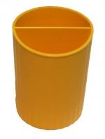 Подставка для ручек желтая СТРП-02