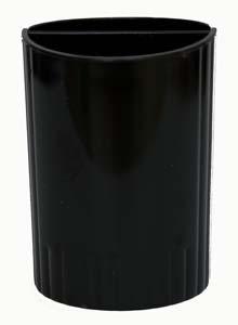 Подставка для ручек черная СТРП-02