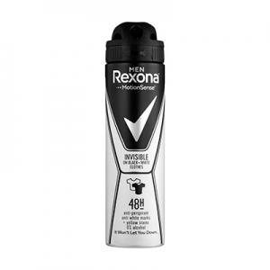 Дезодорант  антиперс-нт для мужчин Rexona Невидимый на черном и белом 150мл 3516