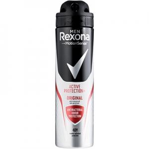 Антиперспирант-аэрозоль Rexona Men Антибактеріальний ефект 150мл 3835