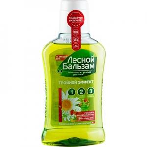 Ополаскиватель для ротовой полости Лисной Бальзам Ромашка и березовый сок  250 мл 0041