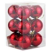 Набор елочных игрушек шар 8см 12шт 92395-PN