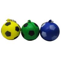 Брелок Футбольный мяч мягкий цена за упак (в упак 12шт) 8-51;6-157 (2746)