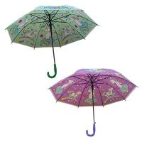 Зонт-трость детский Единорог со свистком  9-258 (10606)